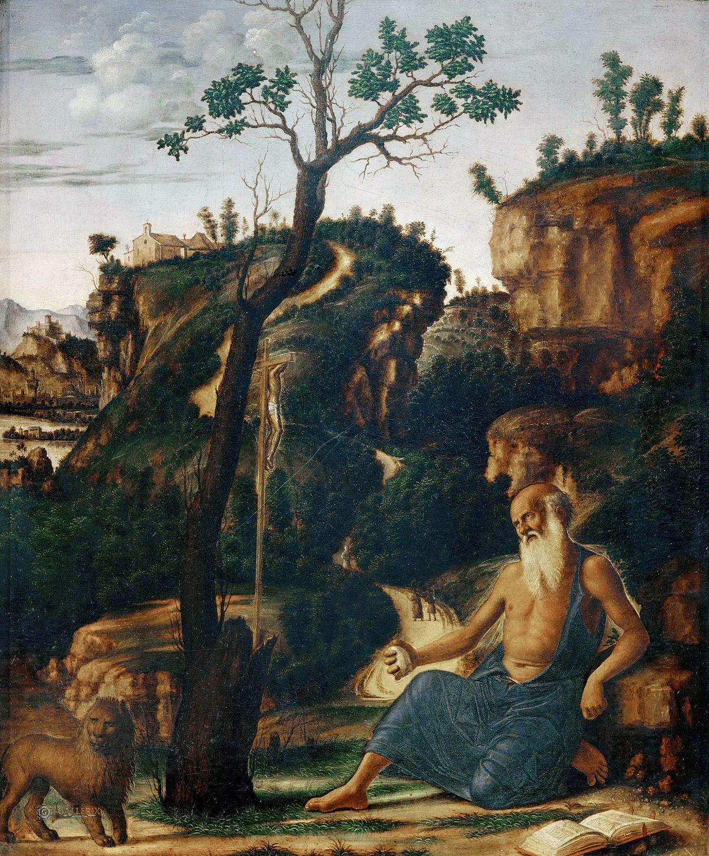 San Girolamo nel deserto (Cima da Conegliano Brera ...