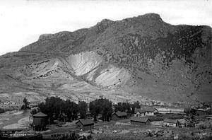 Cimarron, Colorado - In 1883