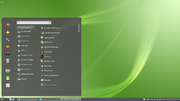 Cinnamon 1.4 on Linux Mint 12.png