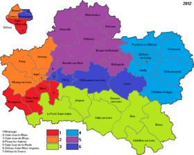 Lections l gislatives de 2017 dans le loiret wikip dia for Region du loiret