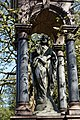 City of London Cemetery Payne Family grave canopied granite monument 02.jpg