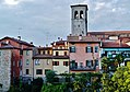 Cividale del Friuli Blick von der Teufelsbrücke auf die Altstadt 6.JPG