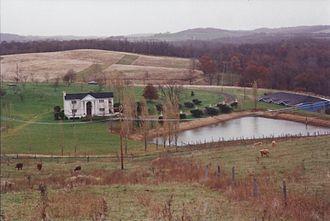 Avella, Pennsylvania - Civil War era home in Avella