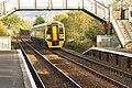 Class 158 at Llanfairpwll railway station (7567).jpg