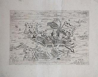 Siege of Mirandola (1551) - Image: Claude Duchet, La Mirandola