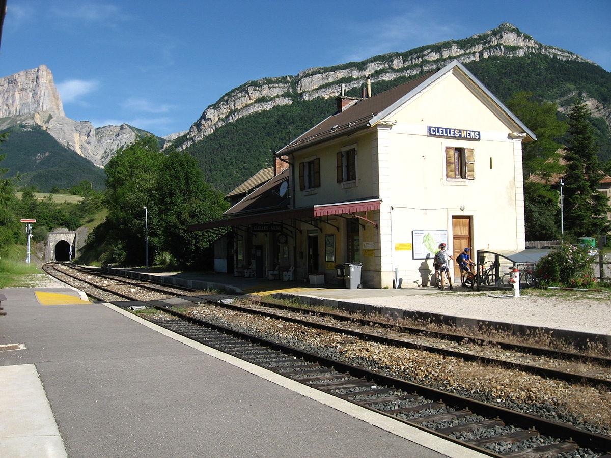 Gare De Clelles Mens Wikip Dia