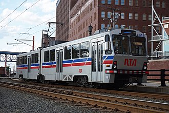RTA Rapid Transit - Image: Cleveland August 2015 26 (RTA Blue Line)