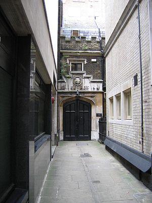 Clifford's Inn - Clifford's Inn Passage, London EC4