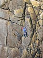Climber at Sennen - geograph.org.uk - 186332.jpg