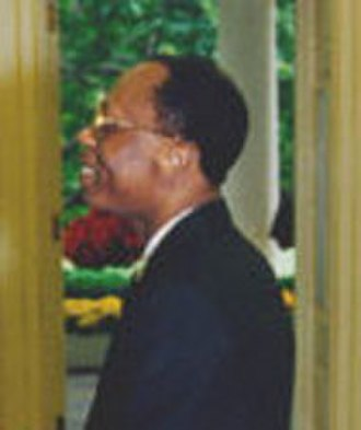 Jean-Bertrand Aristide - Jean-Bertrand Aristide on 14 October 1994.