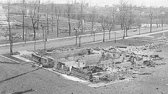 Cloquet fire - Image: Cloquet, Minnesota after the 1918 fire