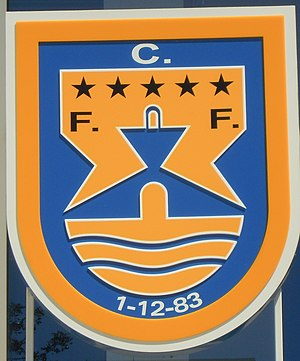 F.C. Ferreiras - Image: Club Bage of FC Ferreiras Estádio da Nora 28 April 2015 (1)