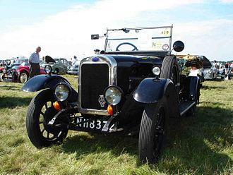 Clyno - 1927 Clyno 12 hp