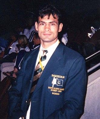 Usman Ullah Khan - Image: Coach Usman Ullah Khan 1