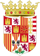 Coat of Arms of Ferdinand II of Aragon (1513-1516).svg