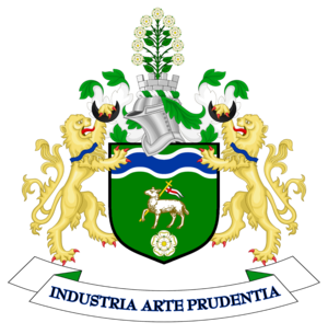 Calderdale - Image: Coat of arms of Calderdale Metropolitan Borough Council