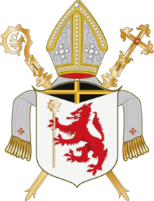 Coat of arms of Diocese of Passau.png
