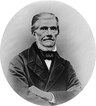 Coenraad Johannes van Houten - Portrait of Coenraad Johannes van Houten