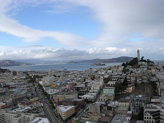 Coit Tower - Image: Coittower sf view