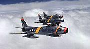 Three F-86s