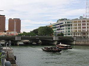 Coleman Bridge, Singapore - Image: Coleman Bridge, Dec 05
