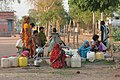 Collecting water, Rajastan (10687168685).jpg