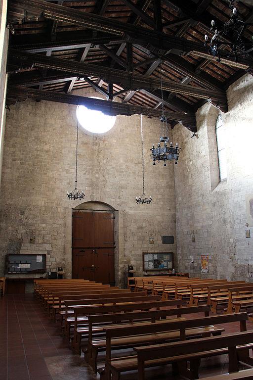 Collegiata di Sant'Agata (Asciano), int. 03 controfacciata