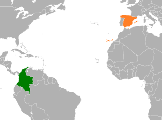 Diplomatic relations between the Republic of Colombia and the Kingdom of Spain