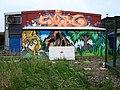 Colourful Graffiti - geograph.org.uk - 949783.jpg