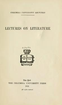 Columbia University Lectures on Literature (1911).djvu