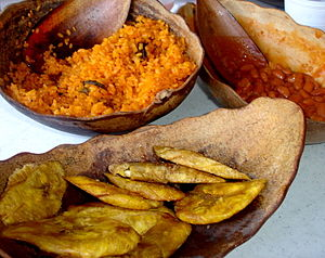 English: Cuisine of Puerto Rico. Although Puer...