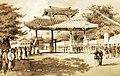 Commodore Perry's Visit to Shui, Loochoo, Artist- W. Heine (37486653306).jpg