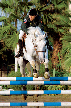 2003 Military World Games - Equestrian events in the modern pentathlon in Catania