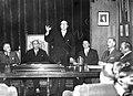 Conferencia de Ramón Otero Pedrayo no salón de Estudios Históricos de Mendoza (Argentina) 1947.jpg