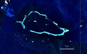 Auriora Island - Satellite image