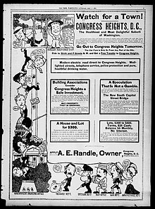 Congress Heights advertisement – May 17th, 1902 (Washington Times)