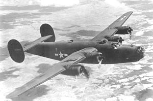 34 Squadron SAAF - Consolidated Vultee B-24 Liberator similar to that flown by 34 Squadron SAAF