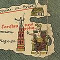 Constantinopolis - Die Weltkarte des Castorius, gennant die Peutinger'sche Tafel, in den Farben des Originals herausgegeben und eingeleitet von Dr. Konrad Miller (cropped).jpg