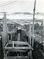 Construction d'un réseau d'égout en hiver près de l'usine Price à Riverbend, Alma (Québec).jpg