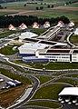 """Construction nears completion on Netzaberg """"MILCON Island"""" at Grafenwoehr (3947190496).jpg"""