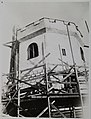 Construction of additonal support and strengthening of the tower at Tarvaspää (34989851646).jpg