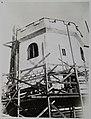 Construction of additonal support and strengthening of the tower at Tarvaspää (34989851646).jpg