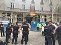 Coordinación de los servicios de emergencias municipales en el derrumbe del Hotel Ritz 03.jpg