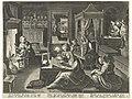 Cornelia, de deugdzame moeder van de Gracchi Beroemde Romeinse vrouwen (serietitel), RP-P-OB-6831.jpg