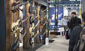 Cort bass guitars from bottom - Musikmesse Frankfurt 2013.jpg