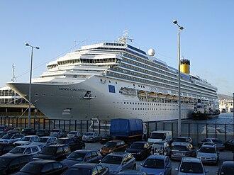 Costa Concordia - Costa Concordia in Piraeus, Greece on November 30, 2006