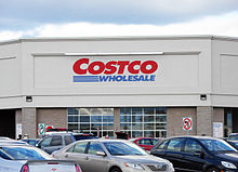 The Costco in Moncton, New Brunswick