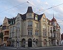 """Ehemaliges Hotel """"Zum Schwan"""", jetzt Altstadthotel """"Am Theater"""" und Restaurant """"Friedrichs"""""""