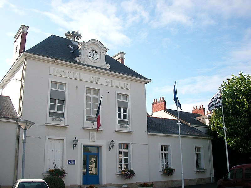 Town hall of Couëron