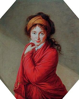 Varvara Golovina - Countess Golovina, by Elisabeth Vigée-Lebrun